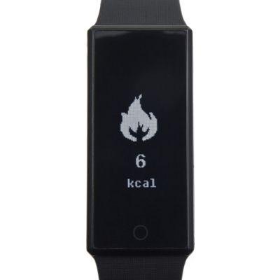 Smartwatch 'Smarty' mit Silikonband schwarz - G848101