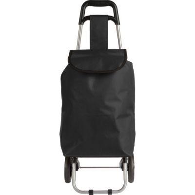 Trolley 'Granny' aus 600D Polyester schwarz - G8484