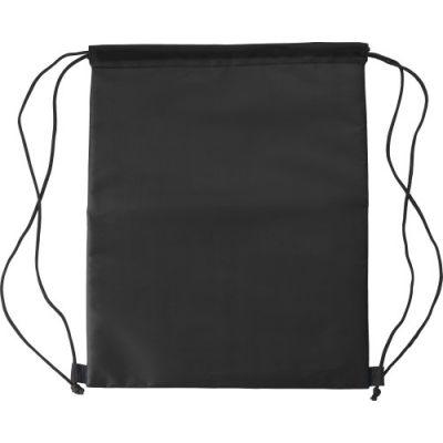Kühltasche 'Lugano' aus Polyester schwarz - G8513