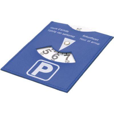 Parkscheibe 'City' aus PU blau - 872205