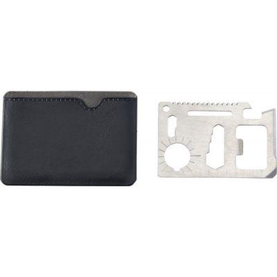 Multifunktionswerkzeug 'Survive' im Kreditkarten-Format schwarz - G895601