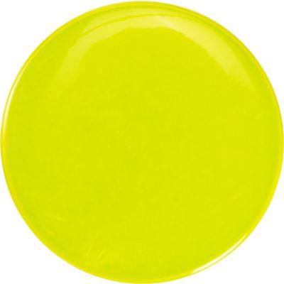 Ansteck-Button 'Light' mit Sicherheitsnadel ( 6cm) gelb - G896106