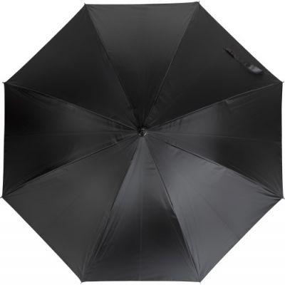 Automatischer Taschenschirm 'Markus' schwarz,silber - G898250