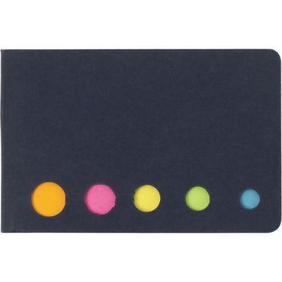 Haftnotizen 'Sticker' aus Karton schwarz - 910401