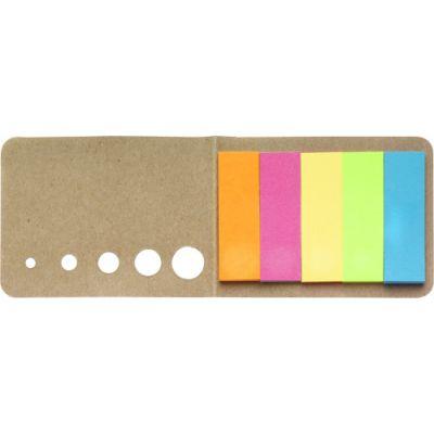 Haftnotizen 'Sticker' aus Karton braun - 9104