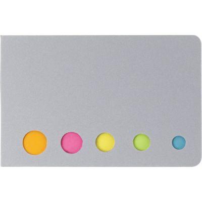 Haftnotizen 'Sticker' aus Karton silber - 910432
