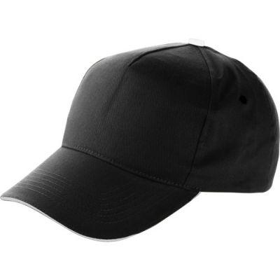 Baseball-Cap 'Dallas' aus Baumwolle schwarz - 911401