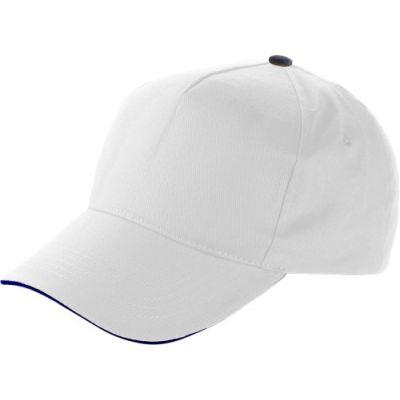 Baseball-Cap 'Dallas' aus Baumwolle weiß - 911402