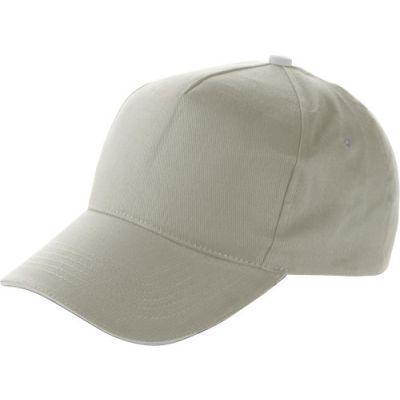 Baseball-Cap 'Dallas' aus Baumwolle grau - 911403