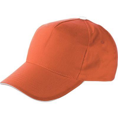 Baseball-Cap 'Dallas' aus Baumwolle orange - 911407