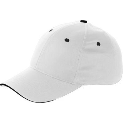 Baseball-Cap 'Chicago' aus Baumwolle weiß - 912002