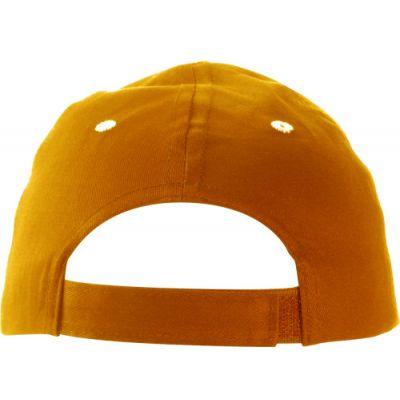 Baseball-Cap 'Chicago' aus Baumwolle orange - G9120-007