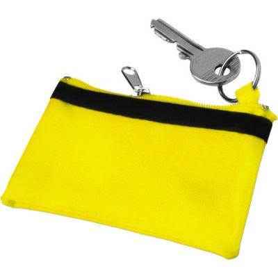 Schlüsseletui 'Edition' aus Nylon gelb - 9124