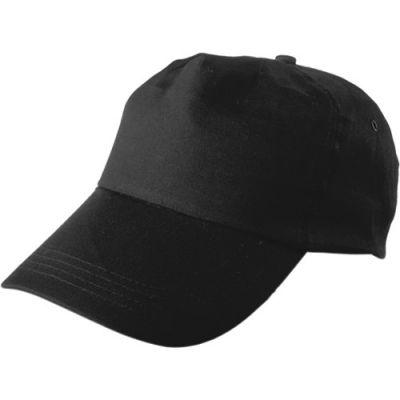 Baseballcap 'Philadephia' aus 100 % Baumwolle schwarz - 912801