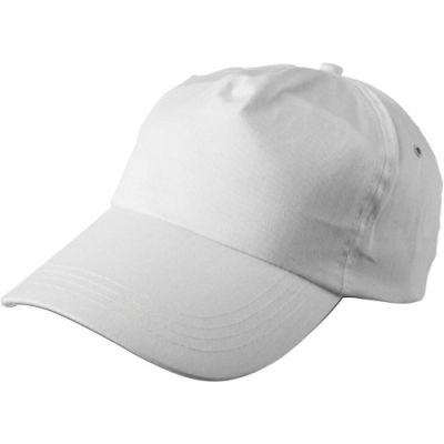 Baseballcap 'Philadephia' aus 100 % Baumwolle weiß - 912802