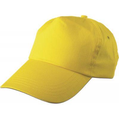 Baseballcap 'Philadephia' aus 100 % Baumwolle gelb - 912806