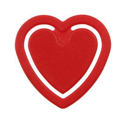 Zettelklammer Herzform - HE0001500