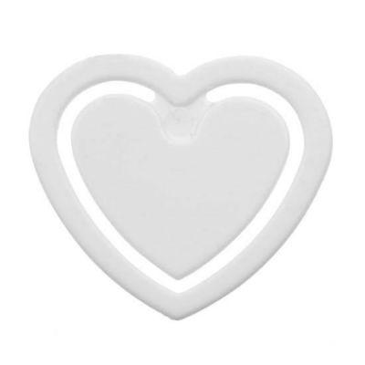 Zettelklammer Herzform, mini - HE0000100