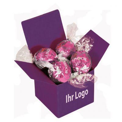 Werbegeschenk Color Lindor Box Lila Erdbeer (WH0002300)