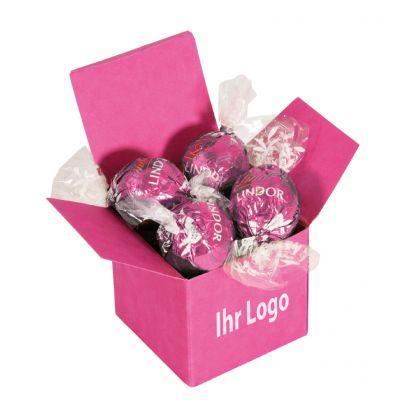 Werbegeschenk Color Lindor Box Pink Erdbeer (WH0002500)