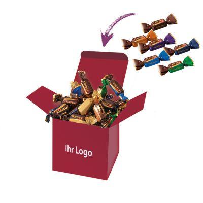 Werbegeschenk Color Merci Box Weinrot (WH0003414)