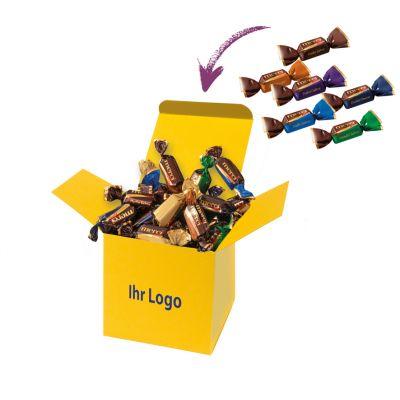 Werbegeschenk Color Merci Box Gelb (WH0003404)