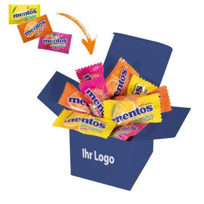 Werbegeschenk Color Mentos Box Dunkelblau (WH0003302)