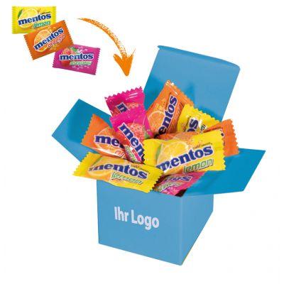Werbegeschenk Color Mentos Box Hellblau (WH0003306)