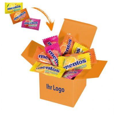 Werbegeschenk Color Mentos Box Orange (WH0003309)