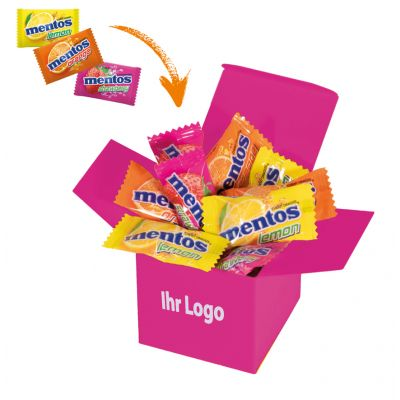 Werbegeschenk Color Mentos Box Pink (WH0003310)