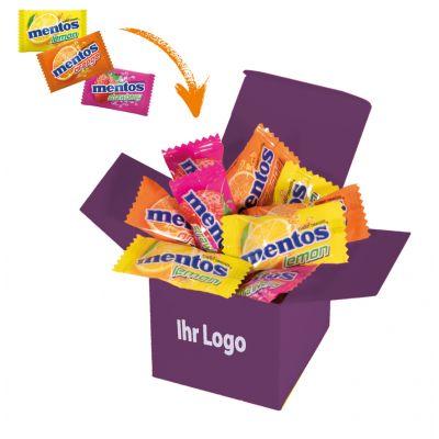 Werbegeschenk Color Mentos Box Lila (WH0003308)