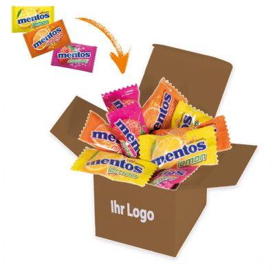 Werbegeschenk Color Mentos Box Braun (WH0003301)
