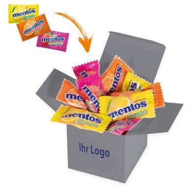 Werbegeschenk Color Mentos Box Grau (WH0003305)