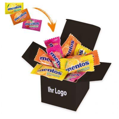Werbegeschenk Color Mentos Box Schwarz (WH0003313)