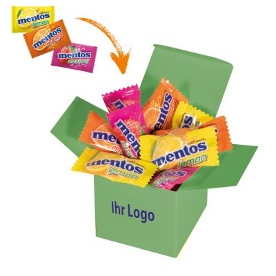 Werbegeschenk Color Mentos Box Hellgrün (WH0003307)