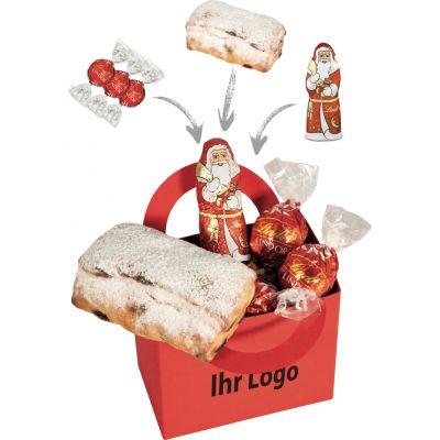 Werbegeschenk Schicke Weihnachtstüte Grün (WH0010003)