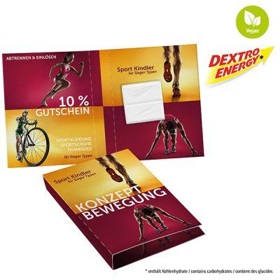 Süßes Briefchen mit DEXTRO ENERGY