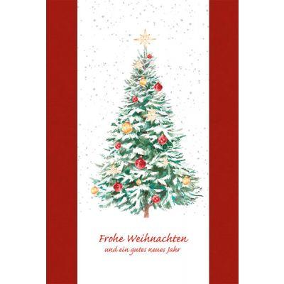 Weihnachtskarte als Werbeartikel