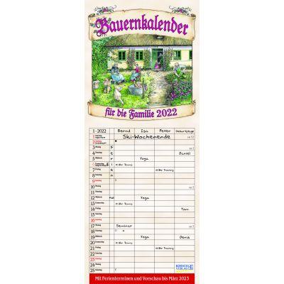 Bauernkalender für die Familie