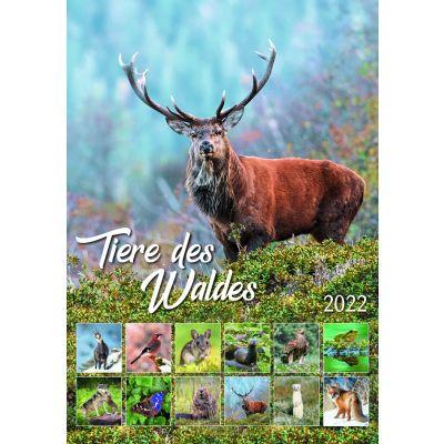 Tiere des Waldes - Abbildung vom Vorjahr. Verkauf vorbehalten.