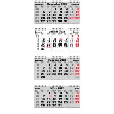 4-Monats-Planer Prime