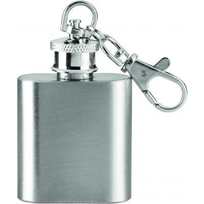 ZORR Flachmann 1OZ/28,3 ml Schlüsselanhänger silber KP0003900