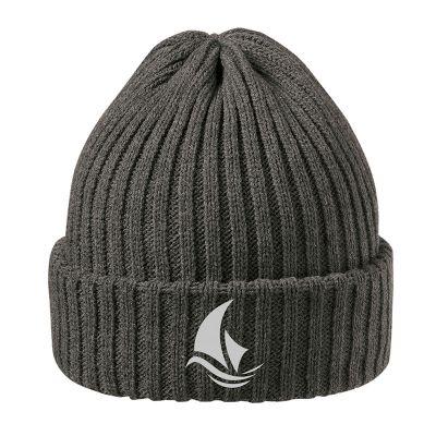 Luxury melee Hat dunkelgrau incl. 4c Druck LL0016803