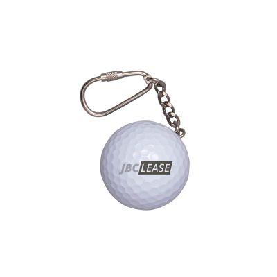 Golfball-Schlüsselanhänger incl. 4c Druck LL0017600