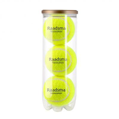 Röhre Tennisbälle gelb incl. 4c Druck LL0022700