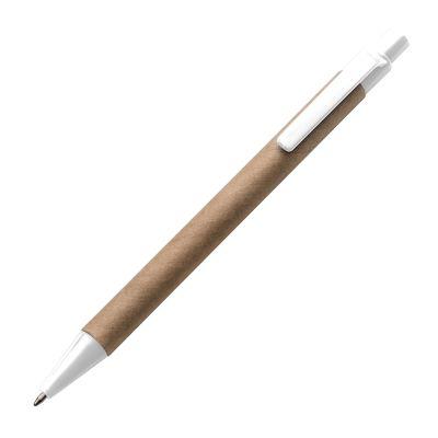 Kugelschreiber aus recyceltem Papier weiß
