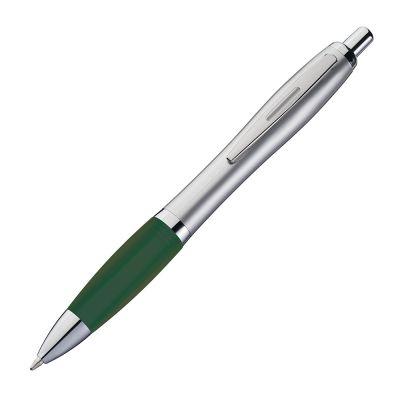 Kugelschreiber mit satiniertem Gehäuse grün