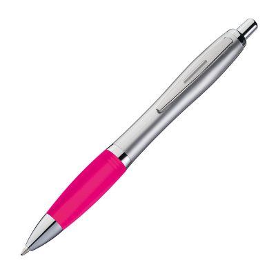 Kugelschreiber mit satiniertem Gehäuse pink