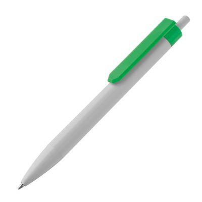 Kugelschreiber aus Kunststoff mit Clip Standard grün