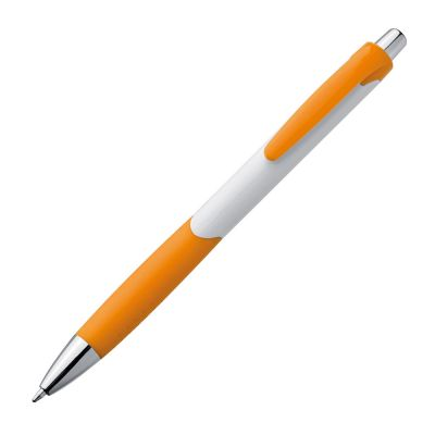 Kugelschreiber aus Kunststoff orange